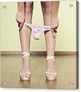 Underpants Acrylic Print