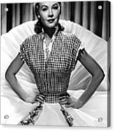 Vera-ellen, Ca. Early 1950s Acrylic Print by Everett