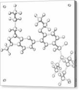 Viagra Drug Molecule Acrylic Print
