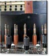 Vintage Telephone Switchboard Acrylic Print