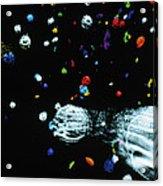 Visualisation Of Primordial Quark/gluon Plasma Acrylic Print