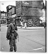 Washington: Riots, 1968 Acrylic Print