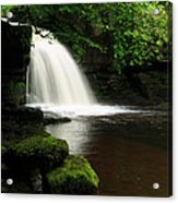 West Burton Falls In Wensleydale Acrylic Print