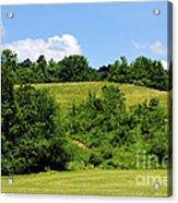 West Virginia Farm Acrylic Print