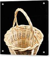 Wicker Basket Acrylic Print