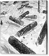 Wisconsin: Lumbering, 1885 Acrylic Print
