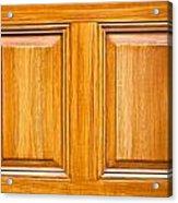 Wooden Panels Acrylic Print