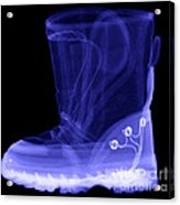 X-ray Of A Childs Light-up Boot Acrylic Print