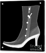 X-ray Of A Dress Boot Acrylic Print