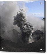 Yasur Eruption, Tanna Island, Vanuatu Acrylic Print