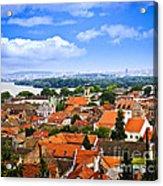 Zemun Rooftops In Belgrade Acrylic Print