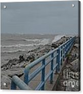 Hurricane Sandy Acrylic Print