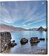Lake Maggiore Acrylic Print
