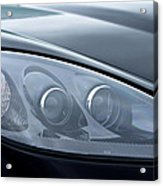 2002 Chevrolet Corvette Head Light Acrylic Print