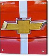 2011 Chevrolet Camaro Hood Emblem Acrylic Print