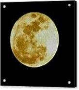 2011 Full Moon Acrylic Print
