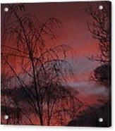 2011 Sunset 1 Acrylic Print