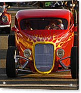 2012 Grants Pass Cruise - Hot Rod Rules Acrylic Print