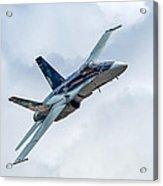 2012 Rcaf Hornet Demo Acrylic Print