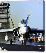 An Fa-18c Hornet Launches Acrylic Print