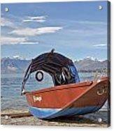 Lake Maggiore Acrylic Print by Joana Kruse