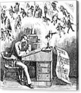 Charles Dickens (1812-1870) Acrylic Print