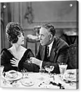 Film Still: Eating & Drinking Acrylic Print by Granger