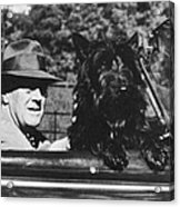 Franklin D. Roosevelt Acrylic Print