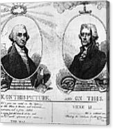Thomas Jefferson (1743-1826) Acrylic Print