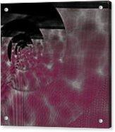 Twirling Shine Acrylic Print
