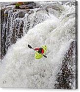 Kayaking Acrylic Print