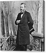 Ulysses S. Grant (1822-1885) Acrylic Print
