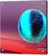 Planet Acrylic Print