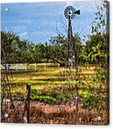 281 Family Farm Acrylic Print