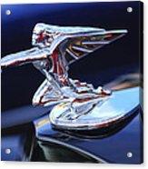 1935 Packard Hood Ornament Acrylic Print