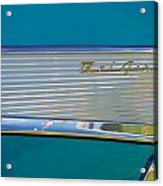 1957 Chevy Convertable Acrylic Print