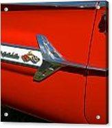 1960 Chevy Impala Convertable Acrylic Print