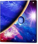 Alien Planet Acrylic Print