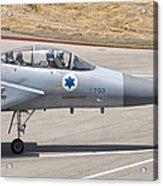 An F-15d Eagle Baz Aircraft Acrylic Print