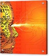 Artificial Intelligence Acrylic Print