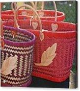 3 Baskets Acrylic Print