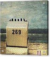 Beach Chair Acrylic Print by Joana Kruse