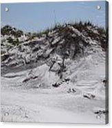 Beach Sand Dunes Acrylic Print