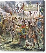Boston: Stamp Act Riot, 1765 Acrylic Print