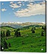 Bridger Mountain View Acrylic Print