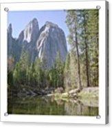 3 Brothers. Yosemite Acrylic Print