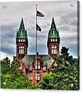 Buffalo Psychiatric Center Acrylic Print