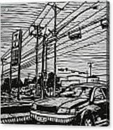 Burnet Road Acrylic Print