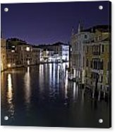 Canal Grande Acrylic Print
