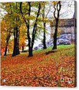 Castle In Autumn Acrylic Print